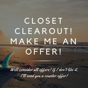 🌷CLOSET CLEAROUT🌷